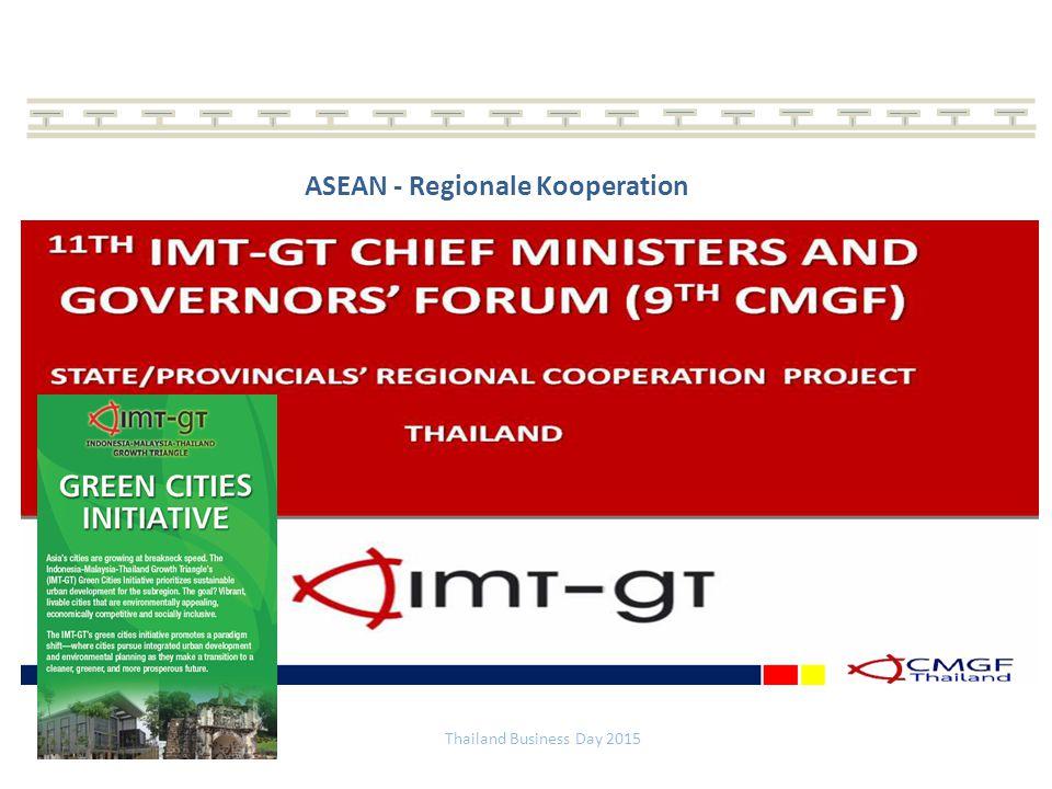 ASEAN - Regionale Kooperation