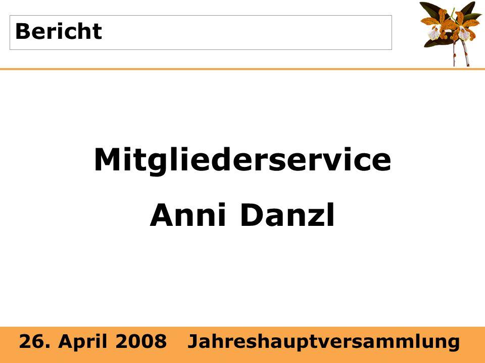 Mitgliederservice Anni Danzl