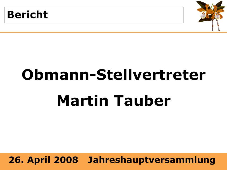Obmann-Stellvertreter