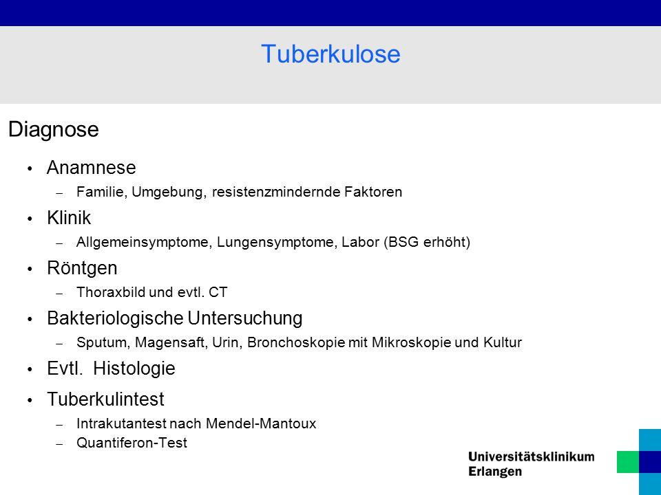 Tuberkulose Test