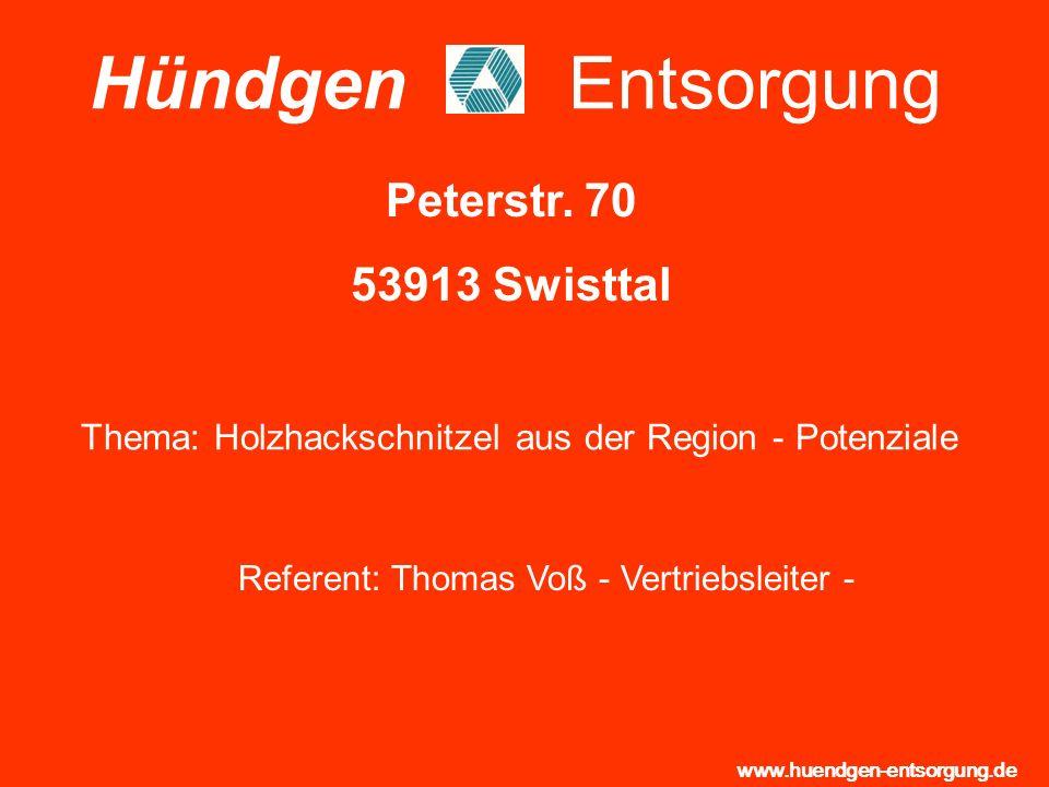 Hündgen Entsorgung Peterstr. 70 53913 Swisttal