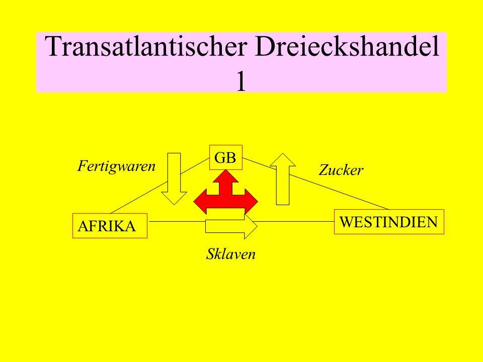 Transatlantischer Dreieckshandel 1
