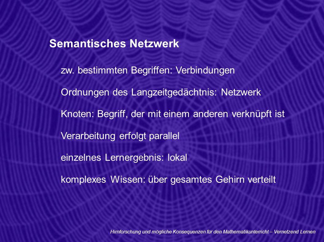 Semantisches Netzwerk