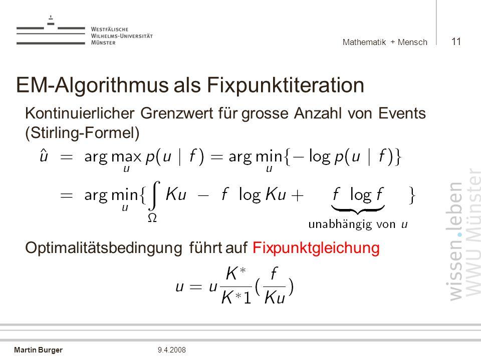 EM-Algorithmus als Fixpunktiteration