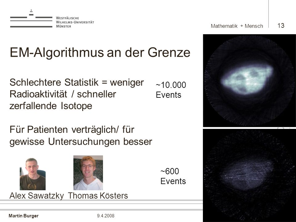 EM-Algorithmus an der Grenze