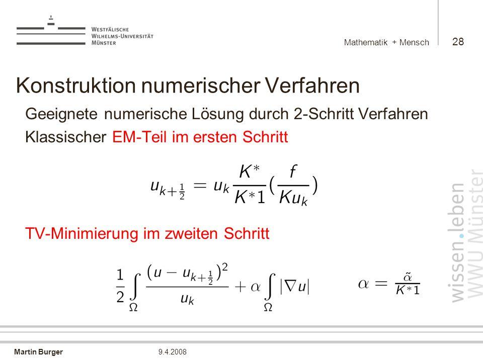 Konstruktion numerischer Verfahren