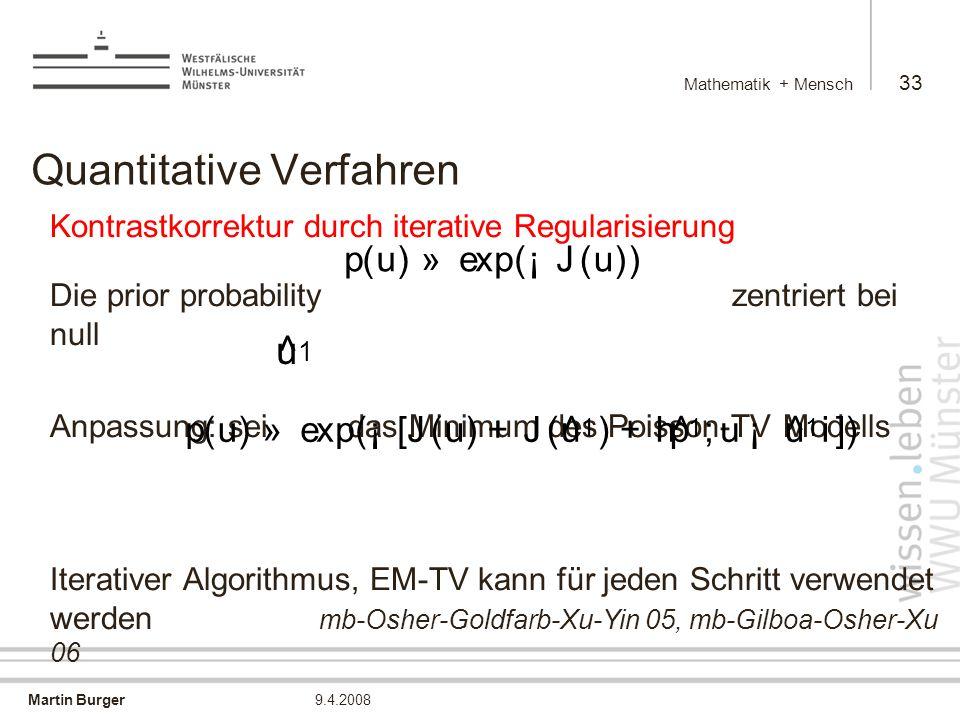 Quantitative Verfahren