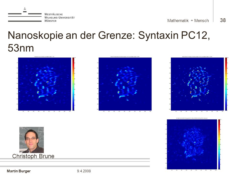 Nanoskopie an der Grenze: Syntaxin PC12, 53nm
