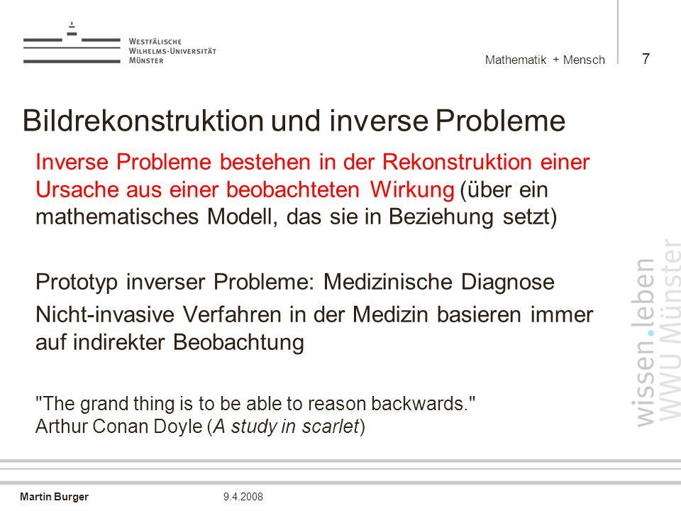Bildrekonstruktion und inverse Probleme