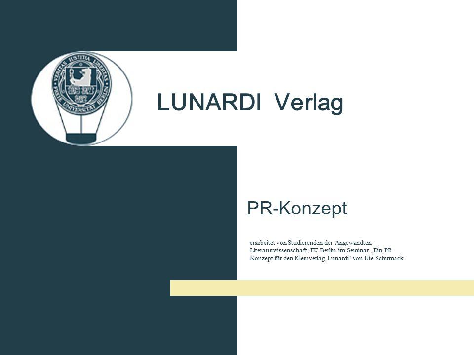 LUNARDI Verlag PR-Konzept