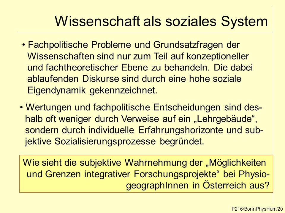 Wissenschaft als soziales System