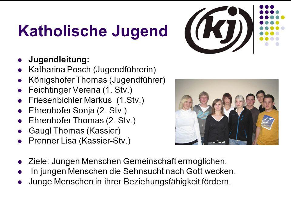 Katholische Jugend Jugendleitung: Katharina Posch (Jugendführerin)