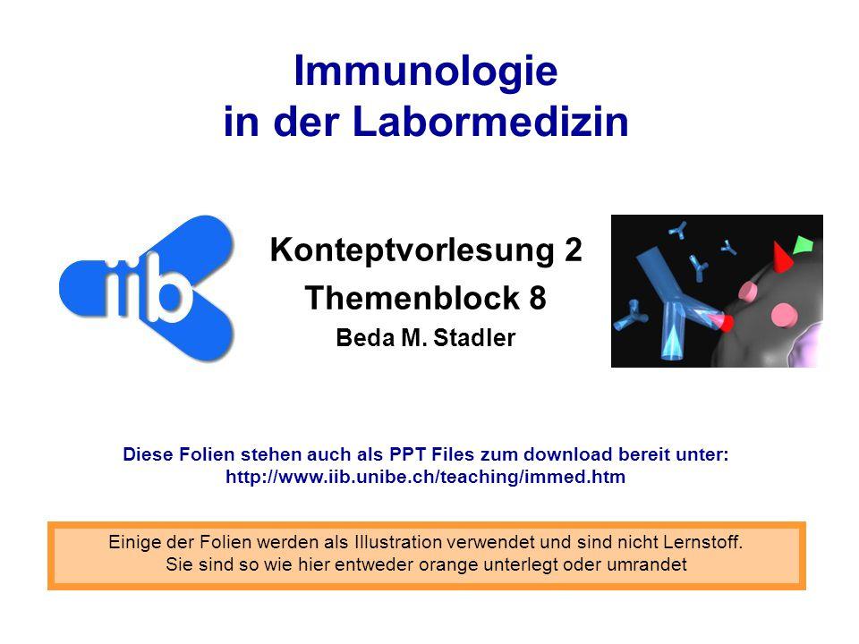 Immunologie in der Labormedizin