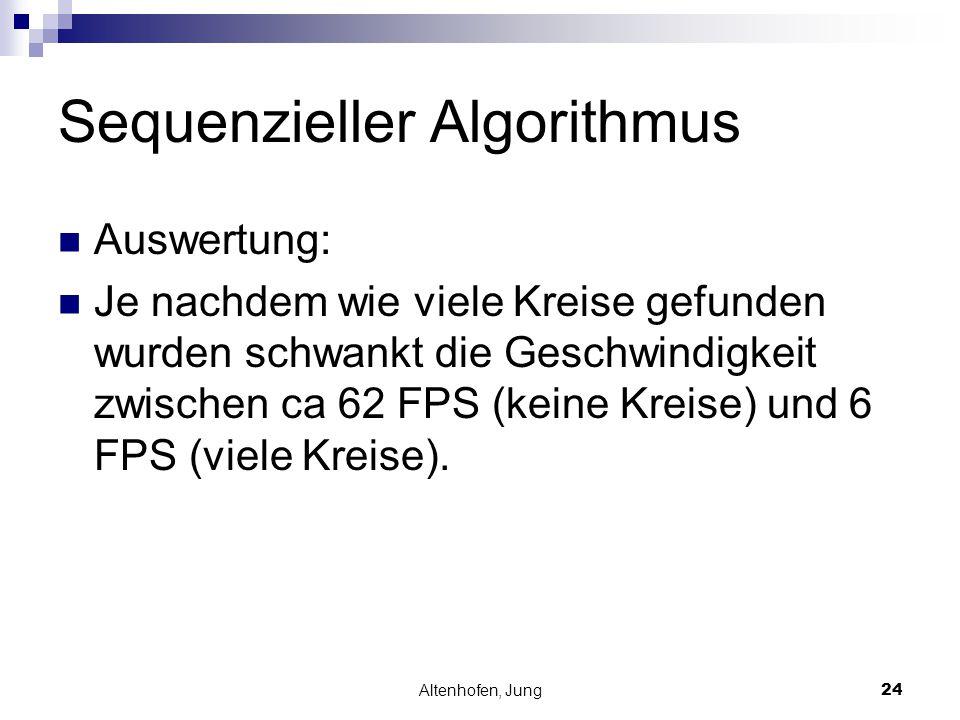 Sequenzieller Algorithmus