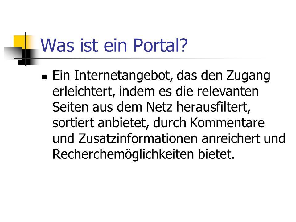Was ist ein Portal