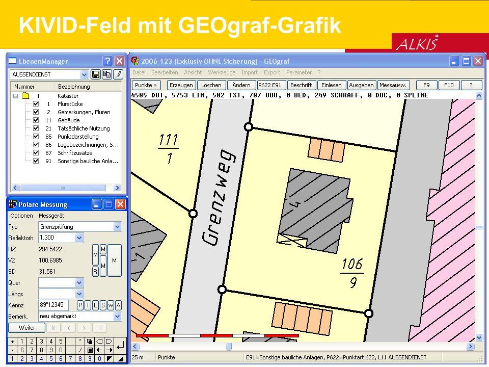 KIVID-Feld mit GEOgraf-Grafik