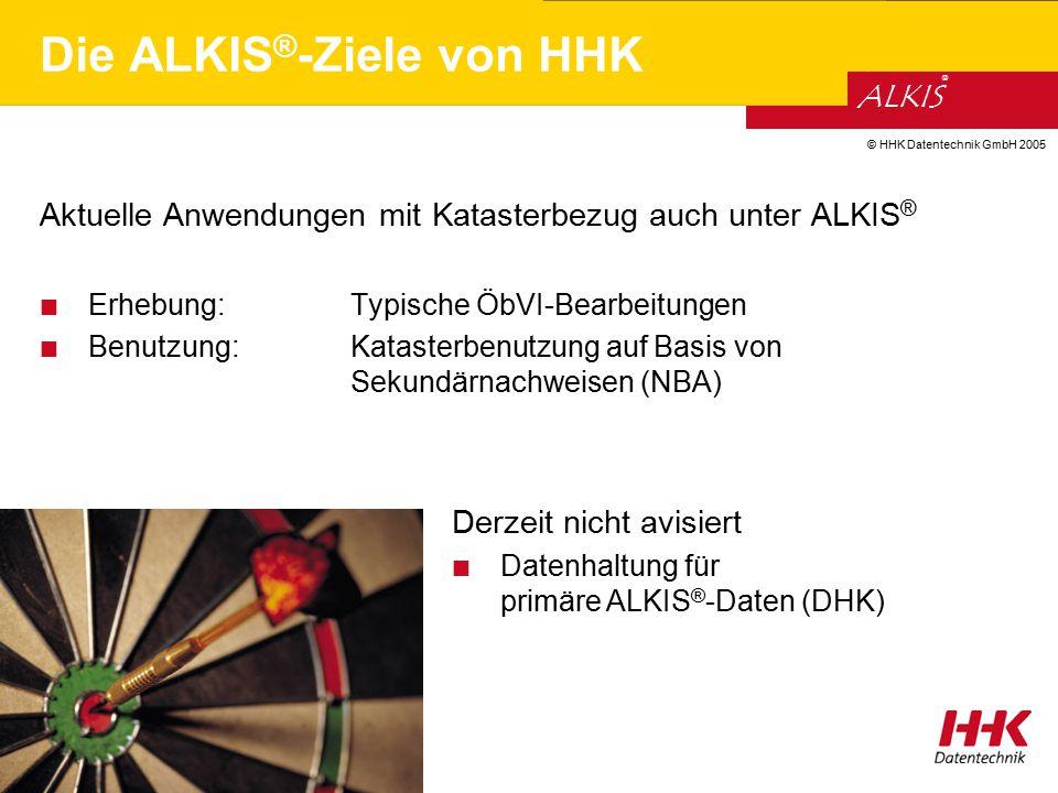 Die ALKIS®-Ziele von HHK