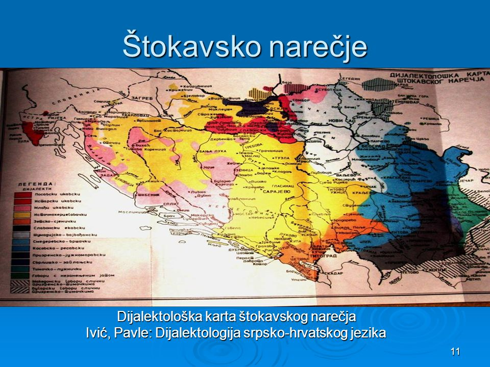 Štokavsko narečje Ivić, Pavle: Dijalektologija srpsko-hrvatskog jezika