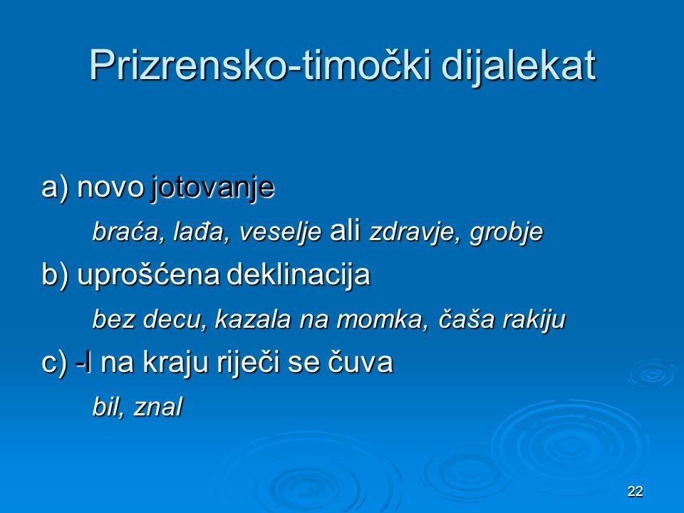 Prizrensko-timočki dijalekat