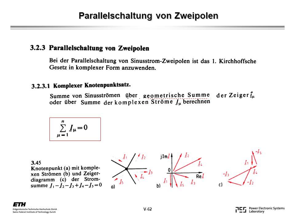 Parallelschaltung von Zweipolen
