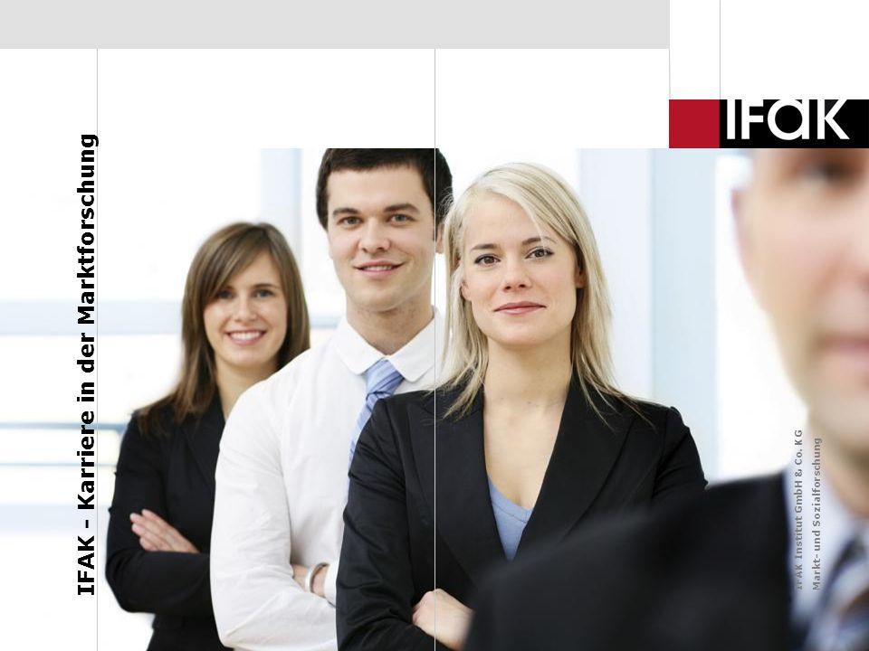 IFAK - Karriere in der Marktforschung