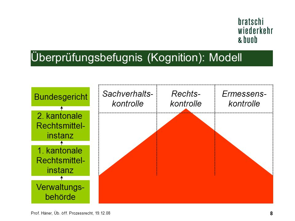 Überprüfungsbefugnis (Kognition): Modell