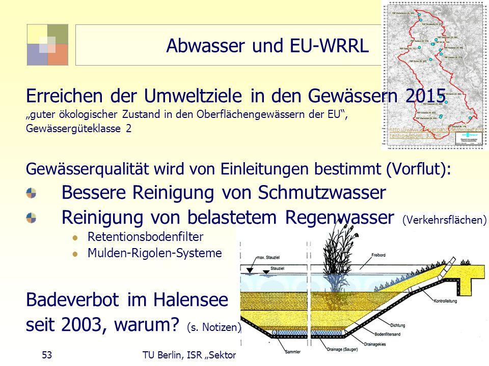 Erreichen der Umweltziele in den Gewässern 2015