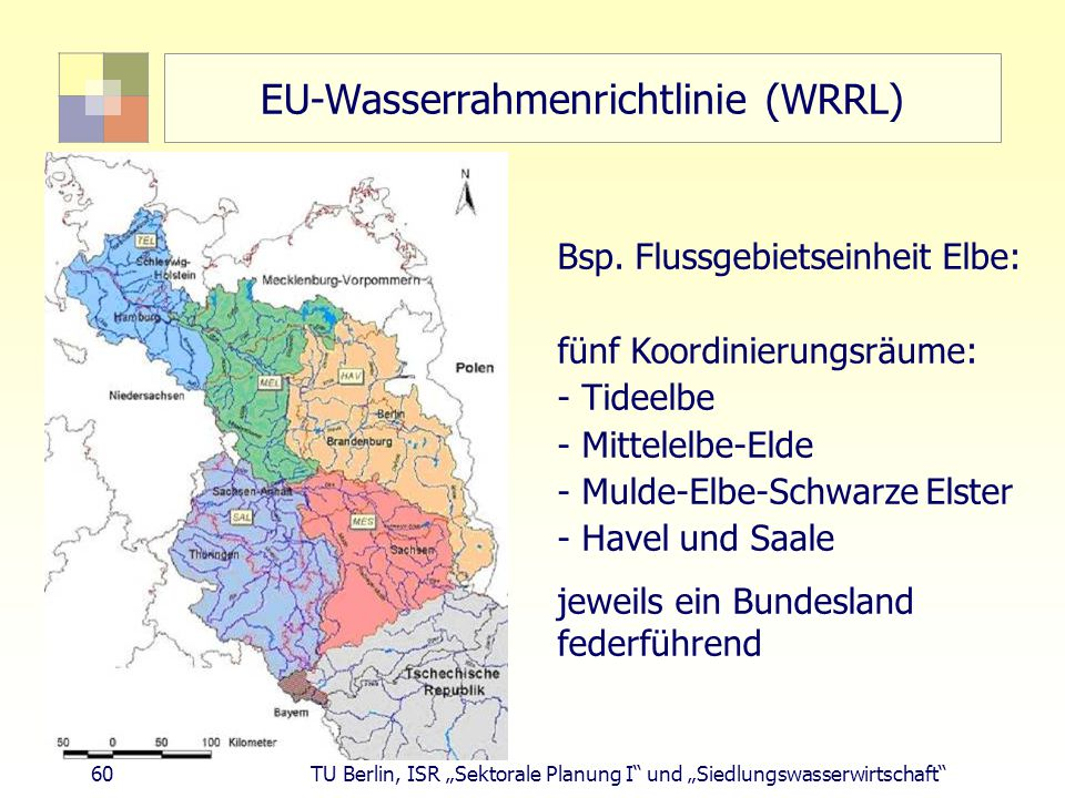 EU-Wasserrahmenrichtlinie (WRRL)