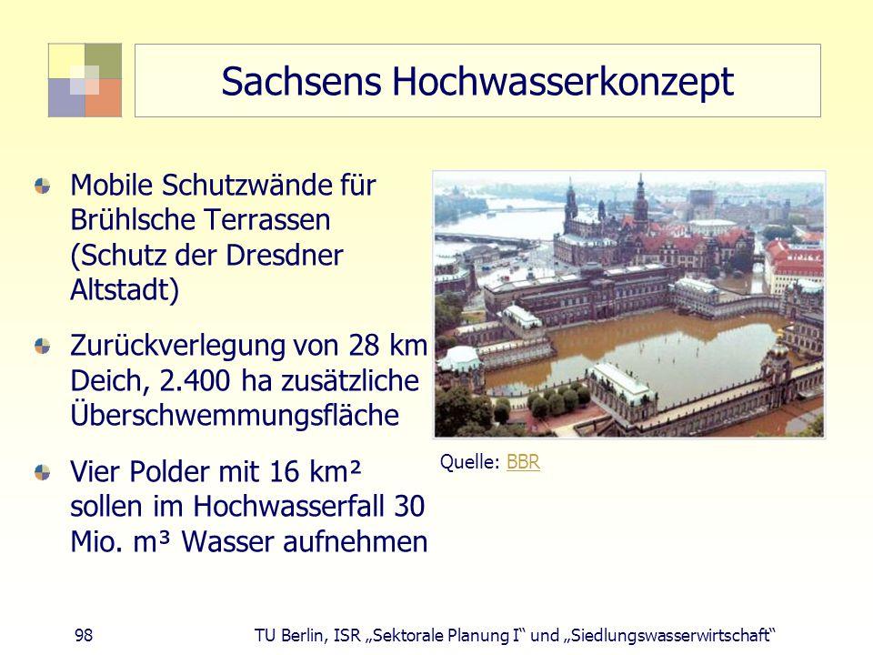 Sachsens Hochwasserkonzept