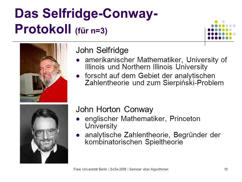 Das Selfridge-Conway-Protokoll (für n=3)