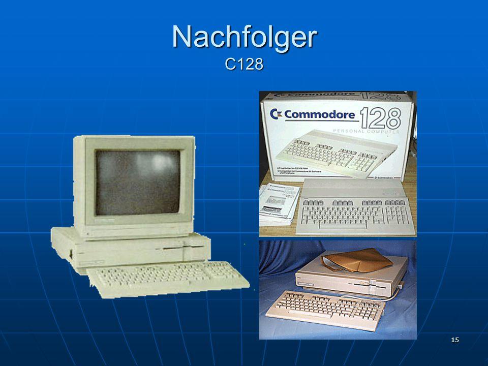 Nachfolger C128