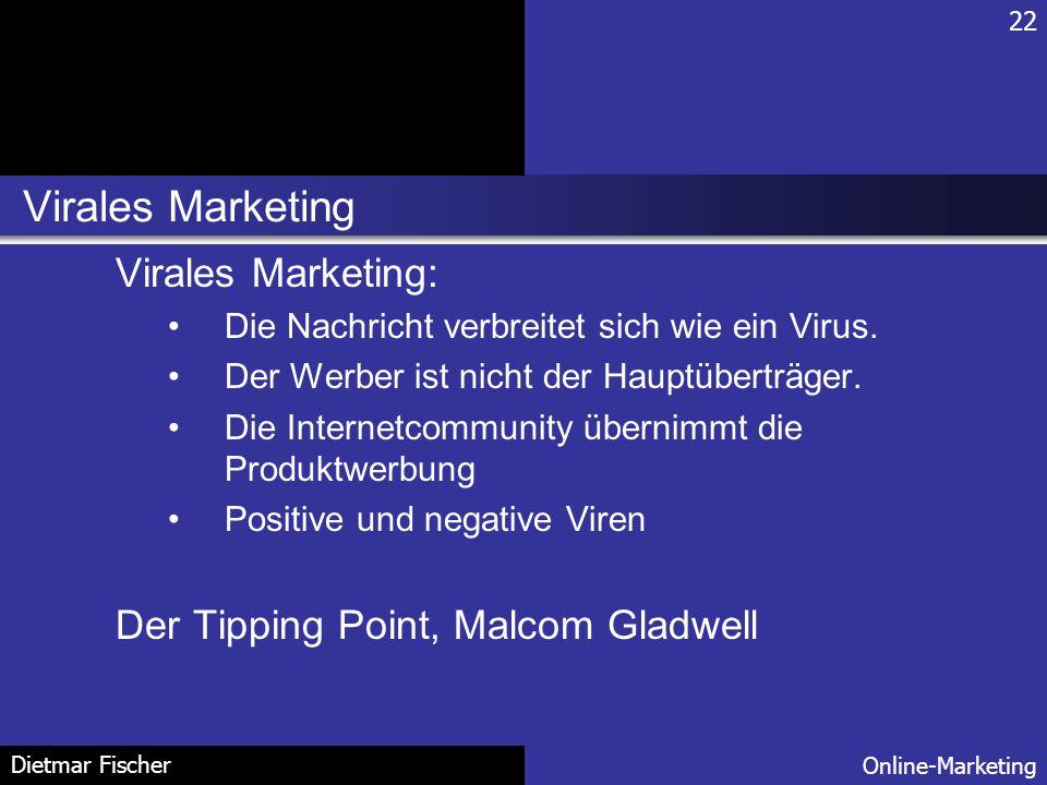 Virales Marketing Virales Marketing: