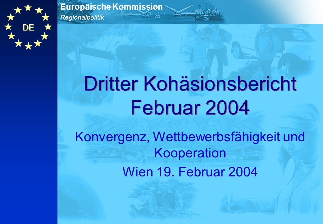Dritter Kohäsionsbericht Februar 2004