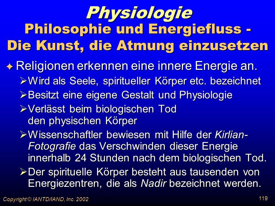 Philosophie und Energiefluss - Die Kunst, die Atmung einzusetzen