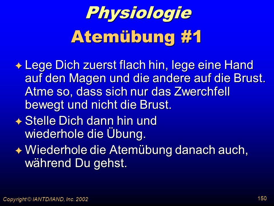 Physiologie Atemübung #1
