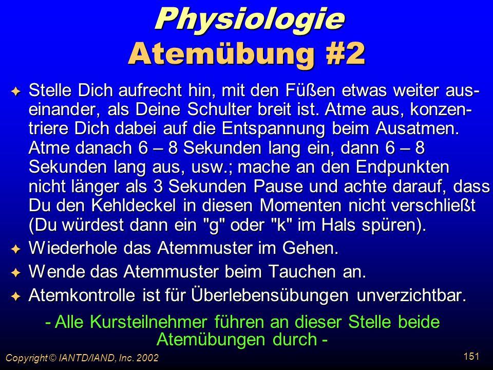 Physiologie Atemübung #2