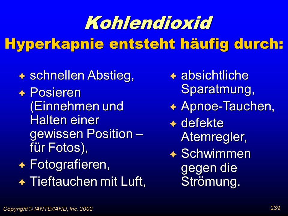 Hyperkapnie entsteht häufig durch: