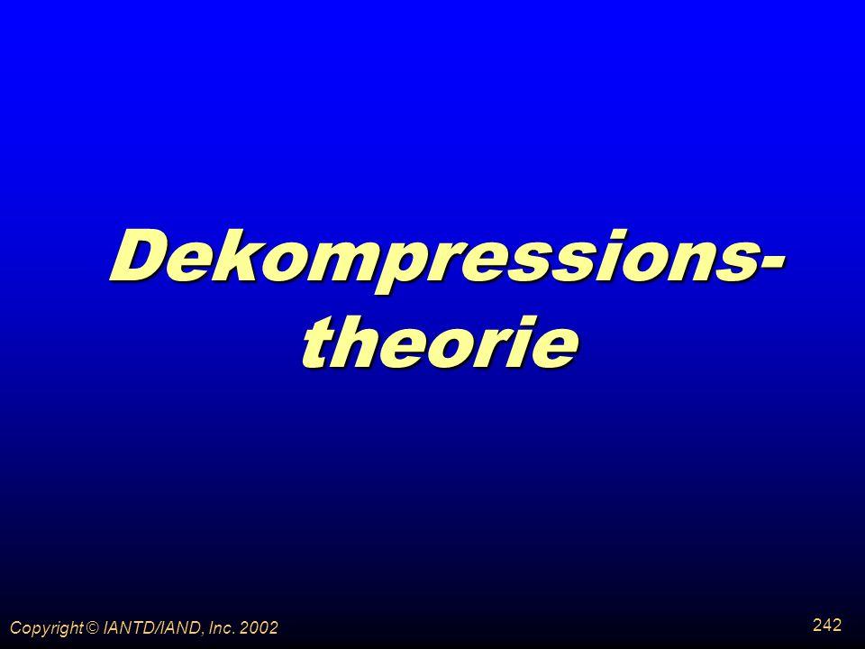 Dekompressions-theorie
