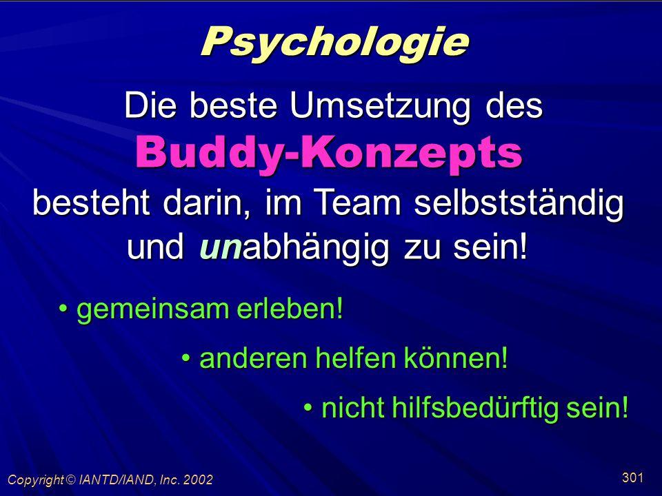 Buddy-Konzepts Psychologie Die beste Umsetzung des
