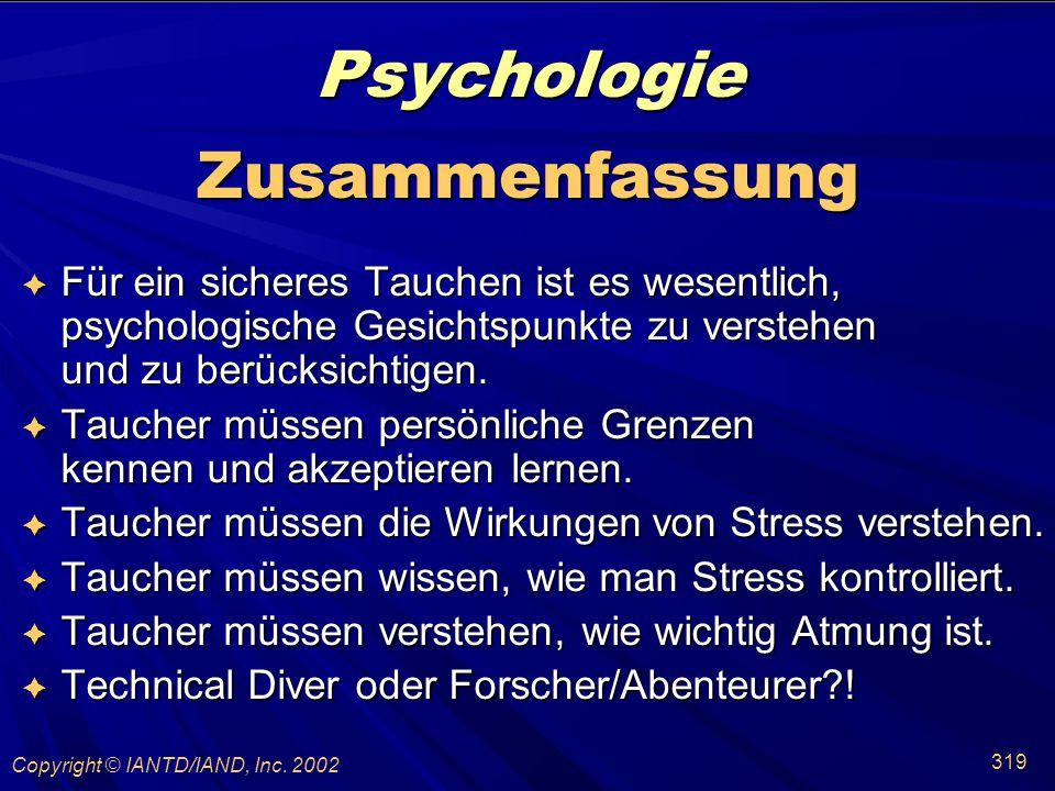 Psychologie Zusammenfassung