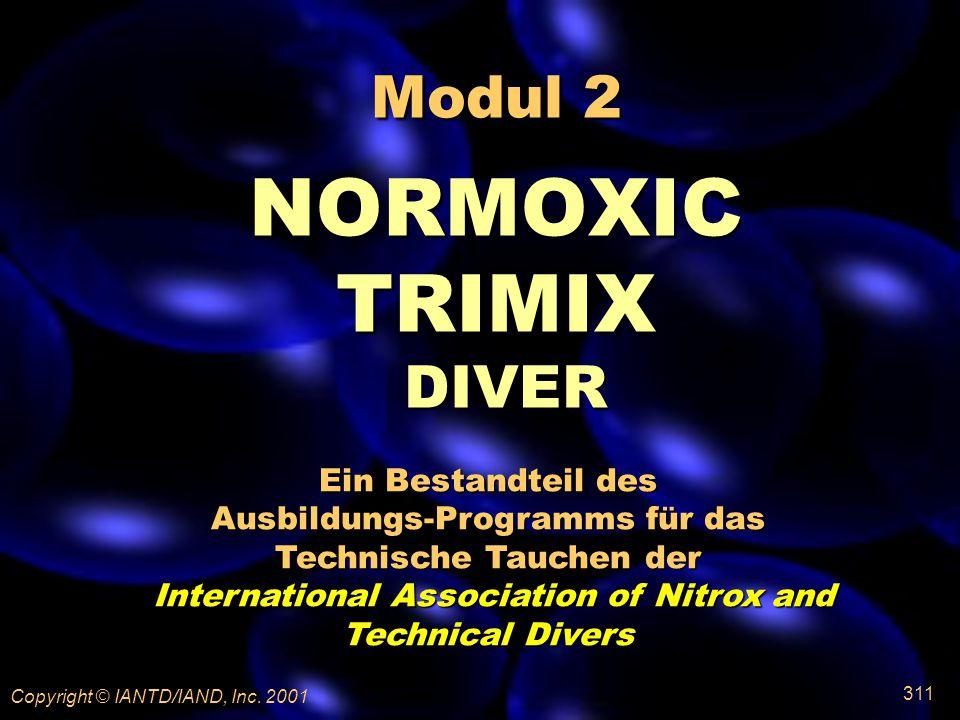 Modul 2 NORMOXIC TRIMIX DIVER