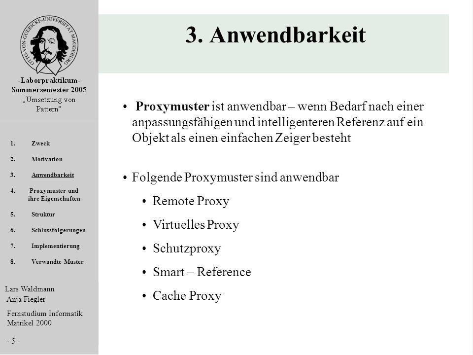 3. Anwendbarkeit