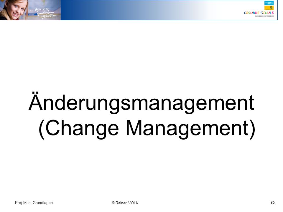 Änderungsmanagement (Change Management)