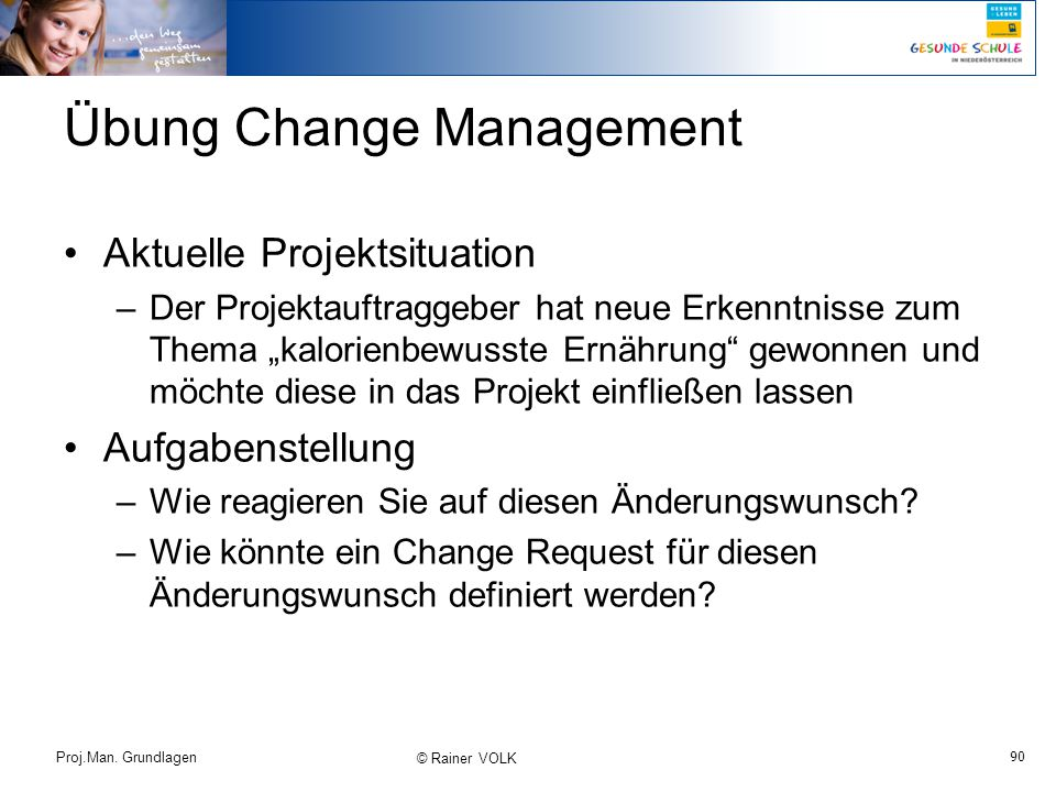 Übung Change Management