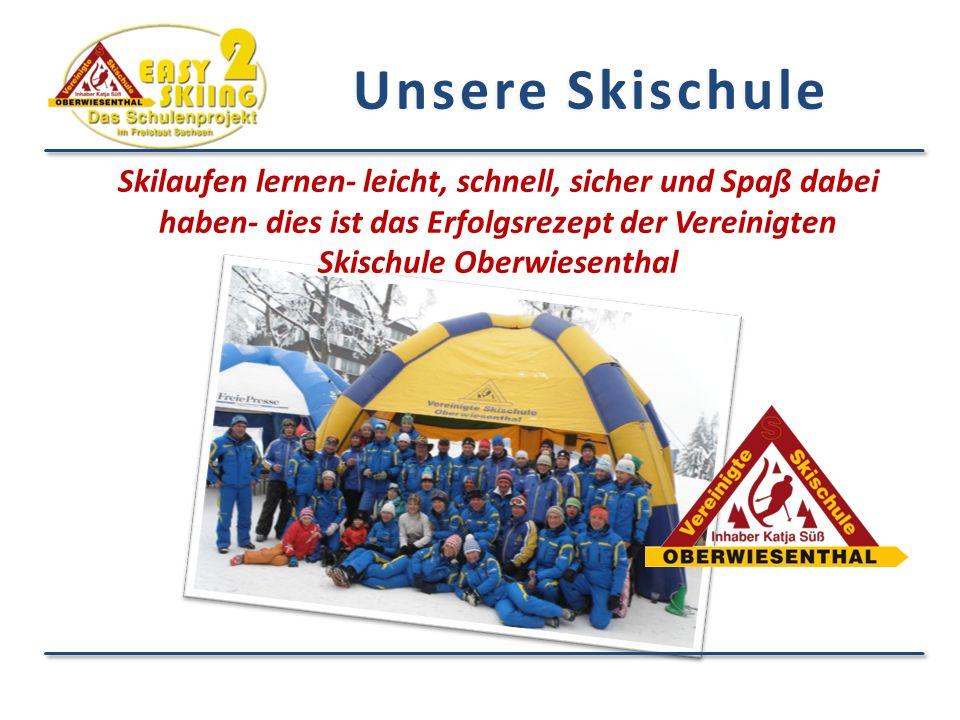 Unsere Skischule Skilaufen lernen- leicht, schnell, sicher und Spaß dabei haben- dies ist das Erfolgsrezept der Vereinigten Skischule Oberwiesenthal.