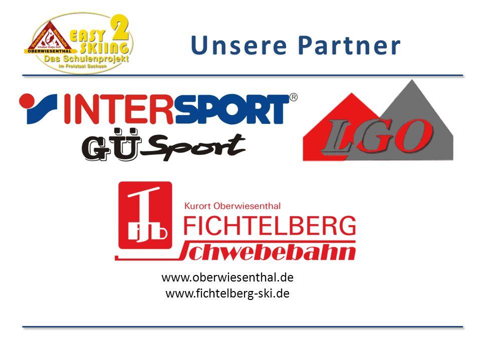 Unsere Partner www.oberwiesenthal.de www.fichtelberg-ski.de