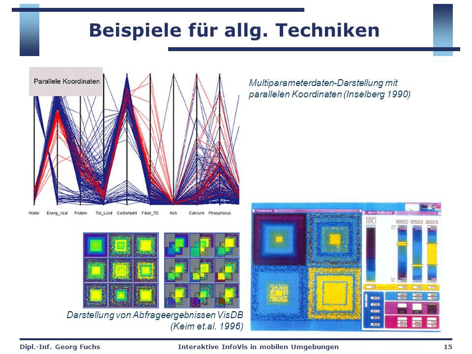 Beispiele für allg. Techniken
