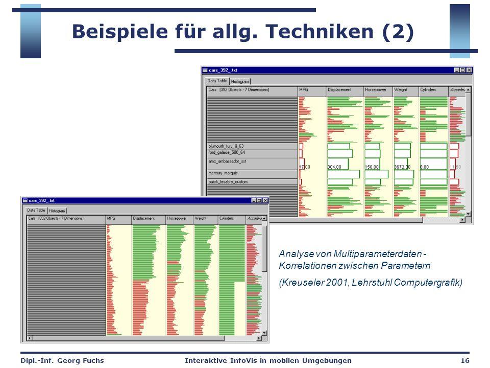 Beispiele für allg. Techniken (2)