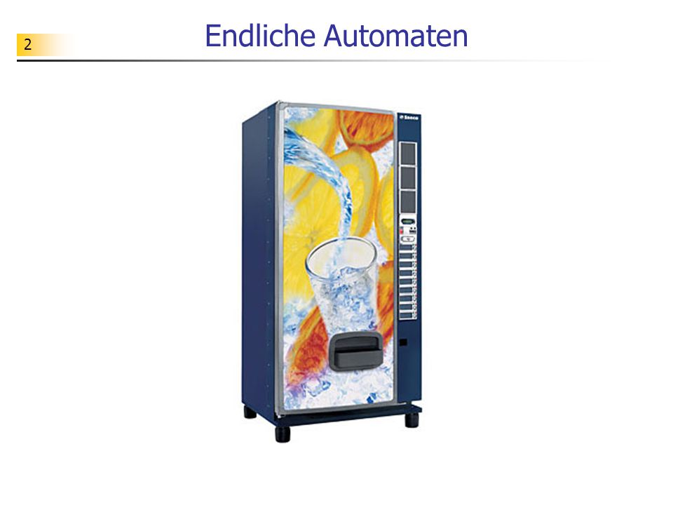 Endliche Automaten