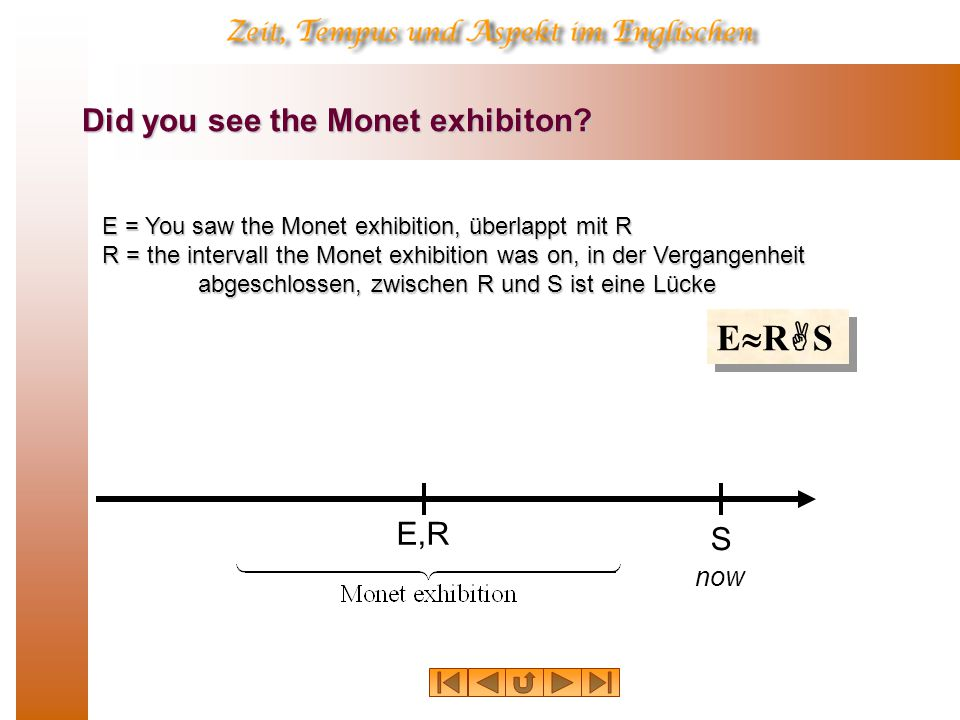 Did you see the Monet exhibiton
